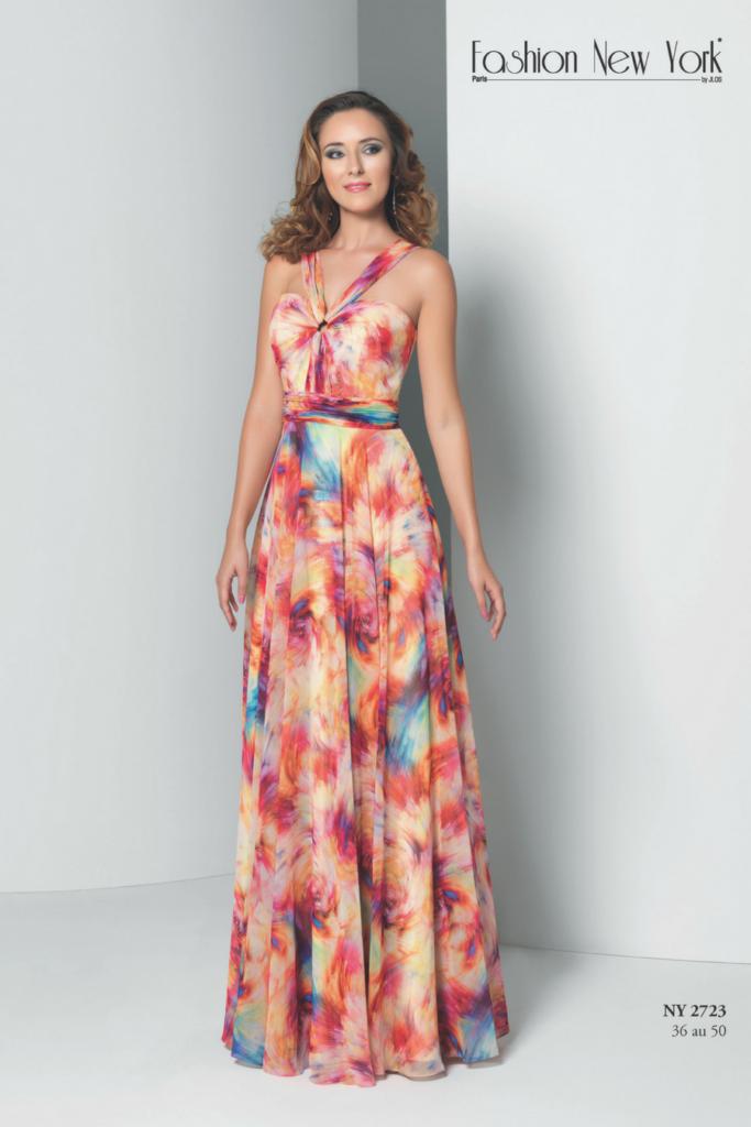 Robe de soiree fashion new york pas cher