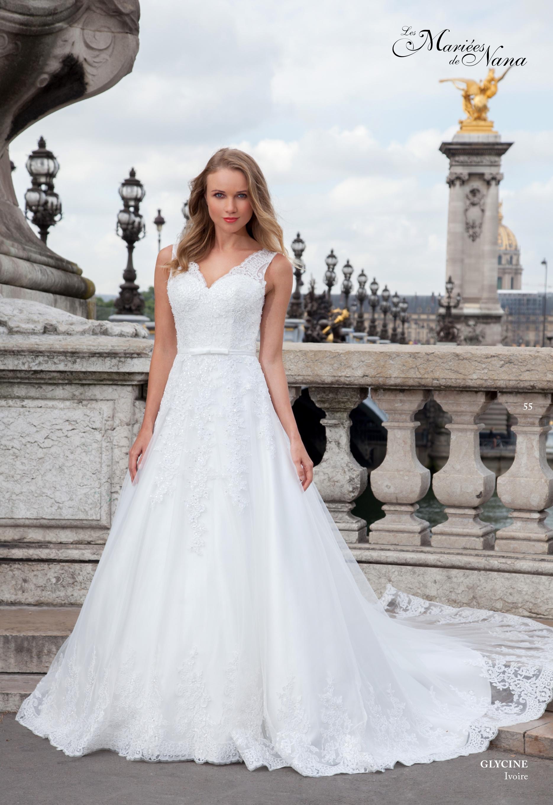 Robe de mariée Glycine - Les Mariées de Nana