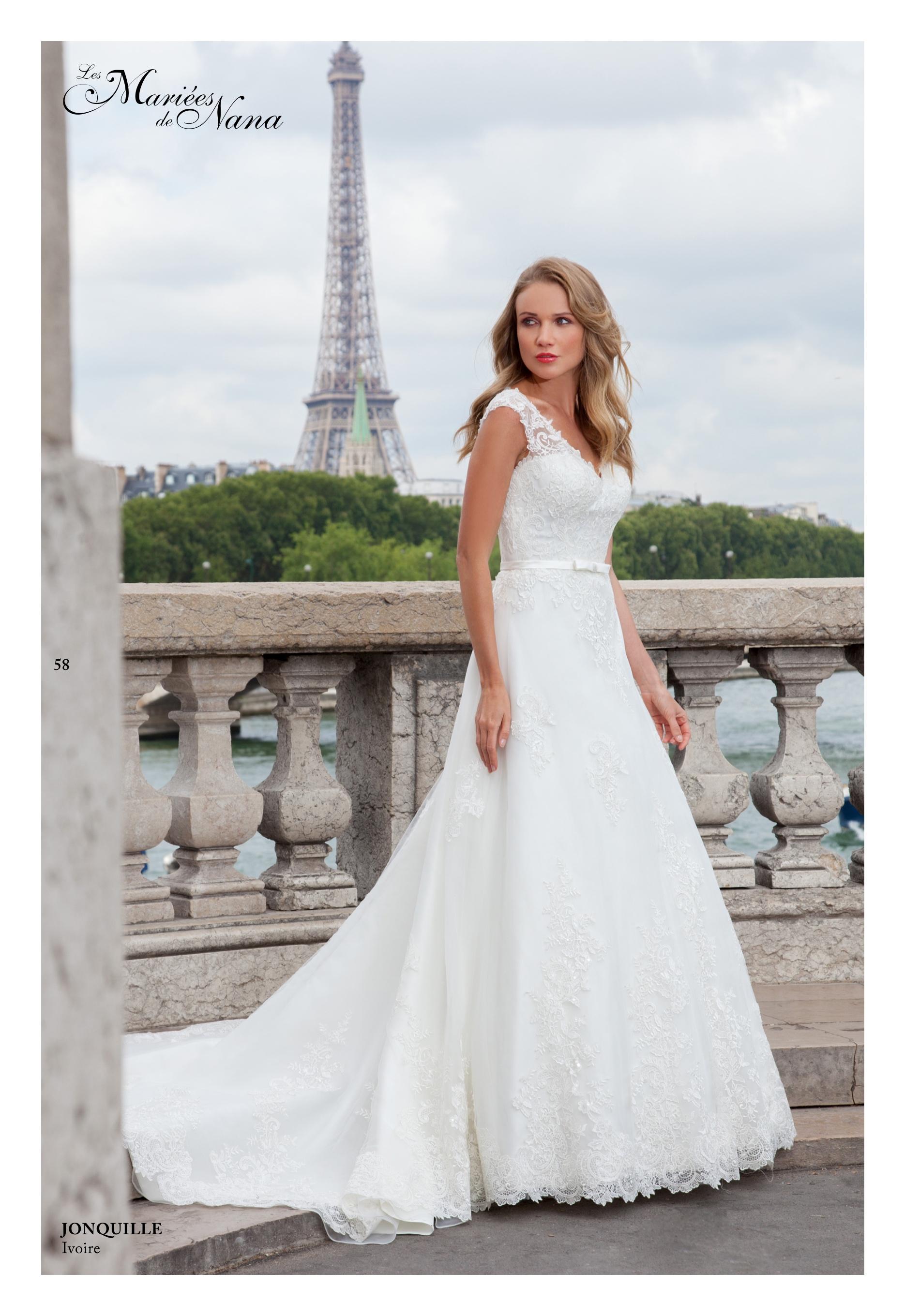 Robe de mariée Jonquille - Les Mariées de